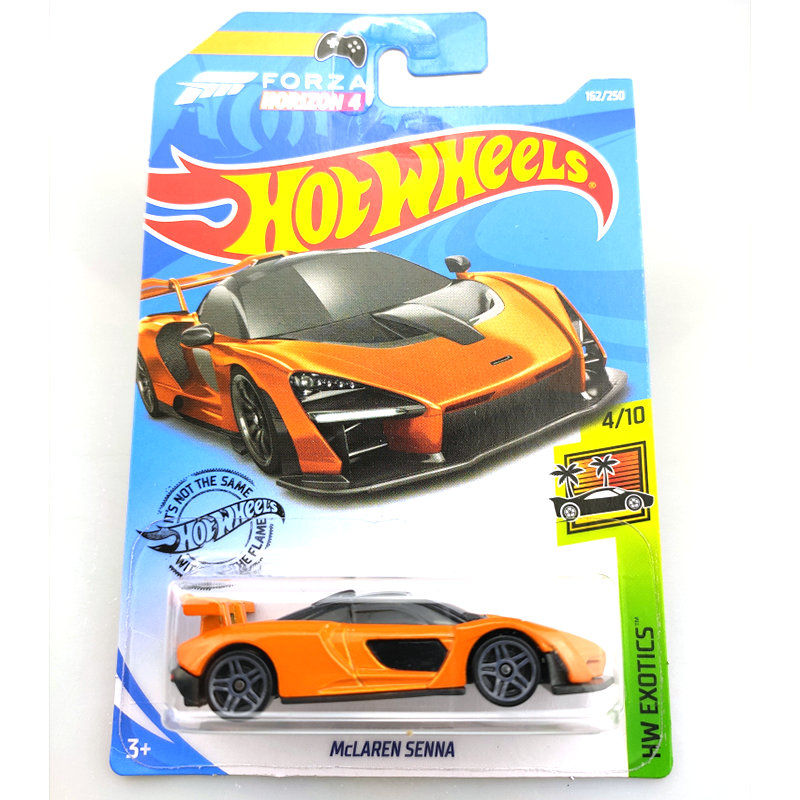 Hot Wheels 1:64 Car McLAREN SENNA  P1 720S Collector Edition Metal Diecast Model Cars Kids Toys Gift