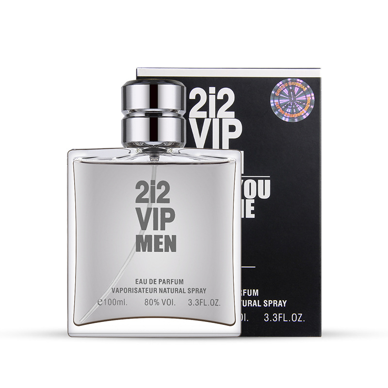 100ml Men's Perfume Masculino With Pheromones Fragrance Fresh Bottle Glass Parfum Eau De Toilette Body Spray M72