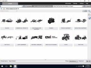 Image 1 - Novo holland ag europe ngpc [01.2021] catálogo de peças da próxima geração offline