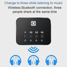 Portable Bluetooth 4.0 Splitter Audio Transmitter Multi-point Music Adapter SP99