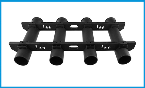 tubo duravel suporte de montagem soquete rack