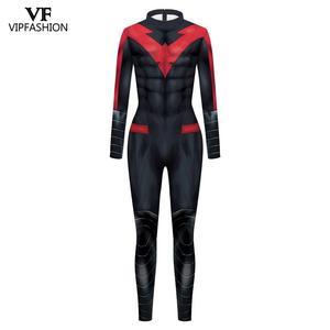 Image 4 - VIP MODE Neue Cosplay Kostüm Superhero Anime Zentai Anzug Body Halloween Kostüm Für Männer
