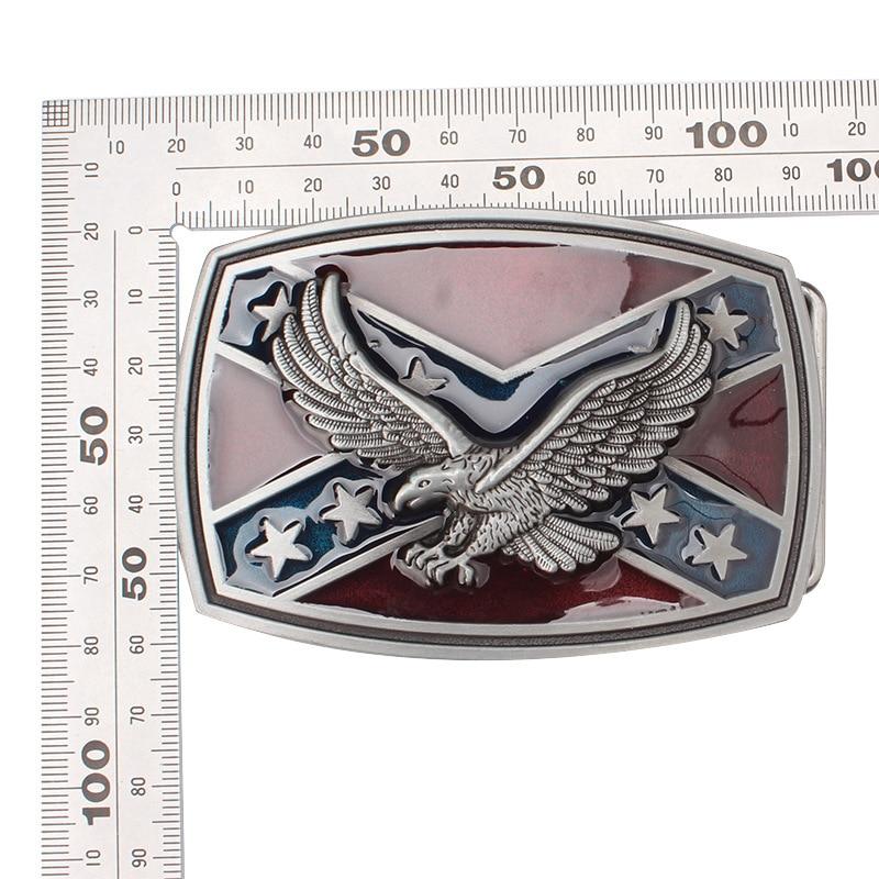 Belt DIY Accessories Eagle/Vulture  Flag Pattern Belt Buckle Handmade Homemade Belt Accessories Waistband DIY Rock Style K44