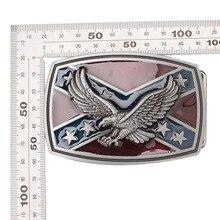 Пояс DIY аксессуары орел/стервятник флаг узор пряжка ручной работы домашний пояс рок стиль К44