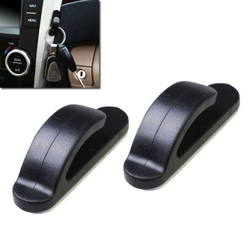 2Pcs Car Self Adhesive Hook Hanger For BMW E34 F10 F20 E92 E38 E91 E53 E70 X5 M M3 E46 E39 E38 E90 M140i 530i 128i image