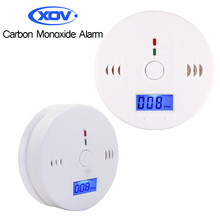 Carbon Monoxide Alarm Detector CO Sensor Monitor Carbon Monoxide Poisoning Gas Voice Warn For Home Security Automatic Alarm