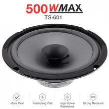 1pcs 6 Inch 500W Universal Car HiFi Coaxial Speaker Vehicle