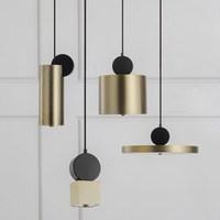 nordic lustre pendente luminaria pendente wood LED pendant lights hanging ceiling lamps