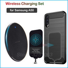 Qi Wireless Charging Device for Samsung Galaxy A50 Wireless