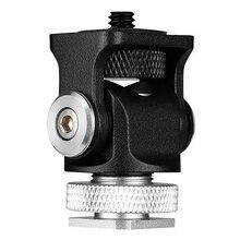 Bracket Accessori Microphone Flash-Holder Hot-Shoe-Mount-Monitor Tripod-Head Screw-Camera
