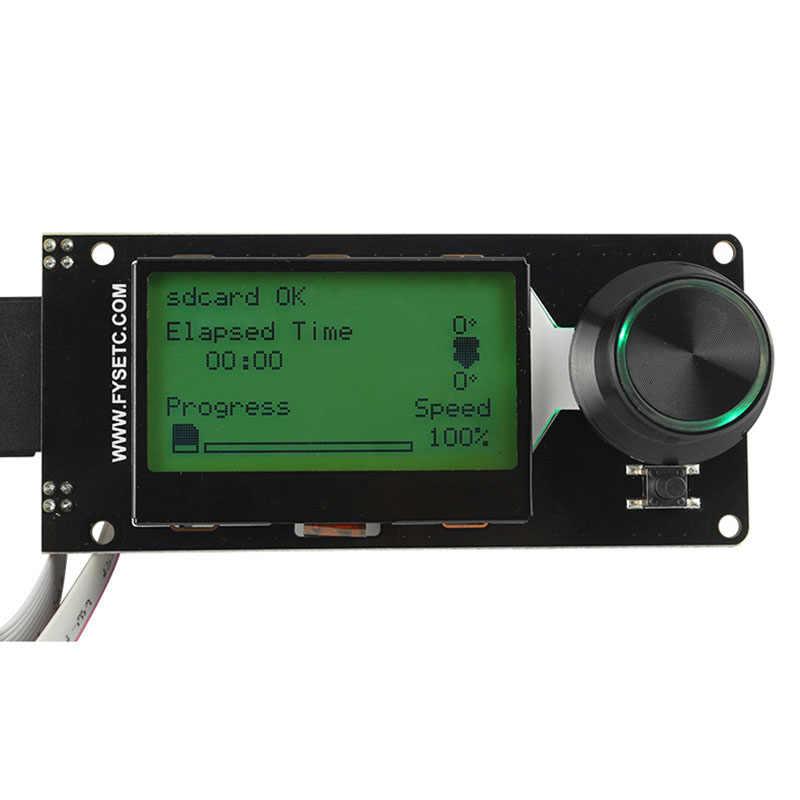 Mới được MKS Gen L + MINI12864 MÀN HÌNH Hiển Thị LCD Hỗ Trợ Marlin DIY Bộ 3D Máy In 999
