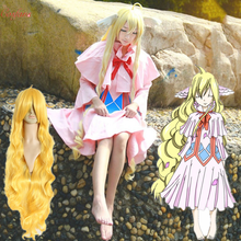 Anime peri kuyruk Cosplay Mavis vermilyon Cos cadılar bayramı partisi tam set japon animesi cosplay giysi peruk cadılar bayramı partisi kostüm