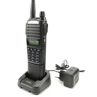128ch 5w vhf uhf 2pcs 100% המקורי Baofeng UV-82 פלוס מכשיר הקשר 5W לונג סוללה 3800mAh 128CH UHF & רדיו סורק VHF comunicador WALKY טוקי (4)