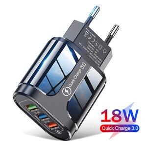 USB быстрое зарядное устройство Быстрая зарядка 3,0 4,0 универсальный настенный мобильный телефон зарядные устройства для iPhone 12 Huawei Samsung зарядн...
