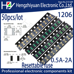3216 1206 0.05A 0.1A 0.12A 0.16A 0.2A 0.25A 0.5A 0.75A 1.1A 2A 3A 3.5A 4A SMD Resettable Fuse PPTC PolySwitch Self-Recovery Fuse