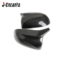 Carbon Mirror Caps Replacement OEM Fitment for BMW new X3 G01 X4 G02 2018 X5 G08 2019 Carbon Side Mirror M Look model