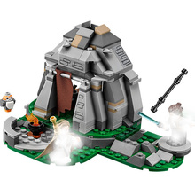 75200 253pcs Star Wars Series Movie Training Building Blocks Brick Toys For Children 10903 Gift