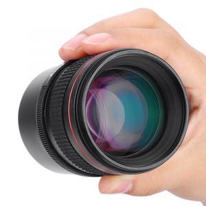 Image 5 - 85mm f/1.8 Pure Manual Focus Large Aperture Medium Telephoto Full frame Manual Mirrorless Camera E Lens for Sony E Mount Camera