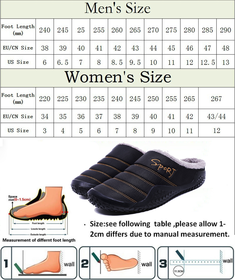adult size chart-1