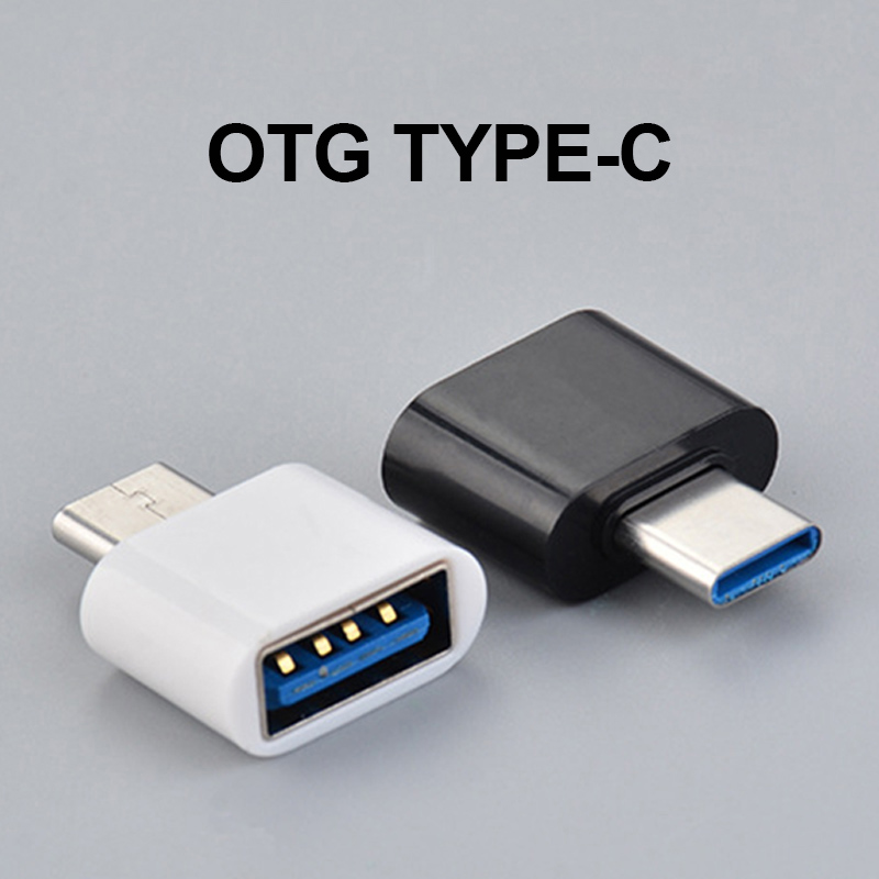 Mini OTG Type C To USB Adapter Universal Adaptador USB Converter For MACBOOK Data Transmission Connecting External Device