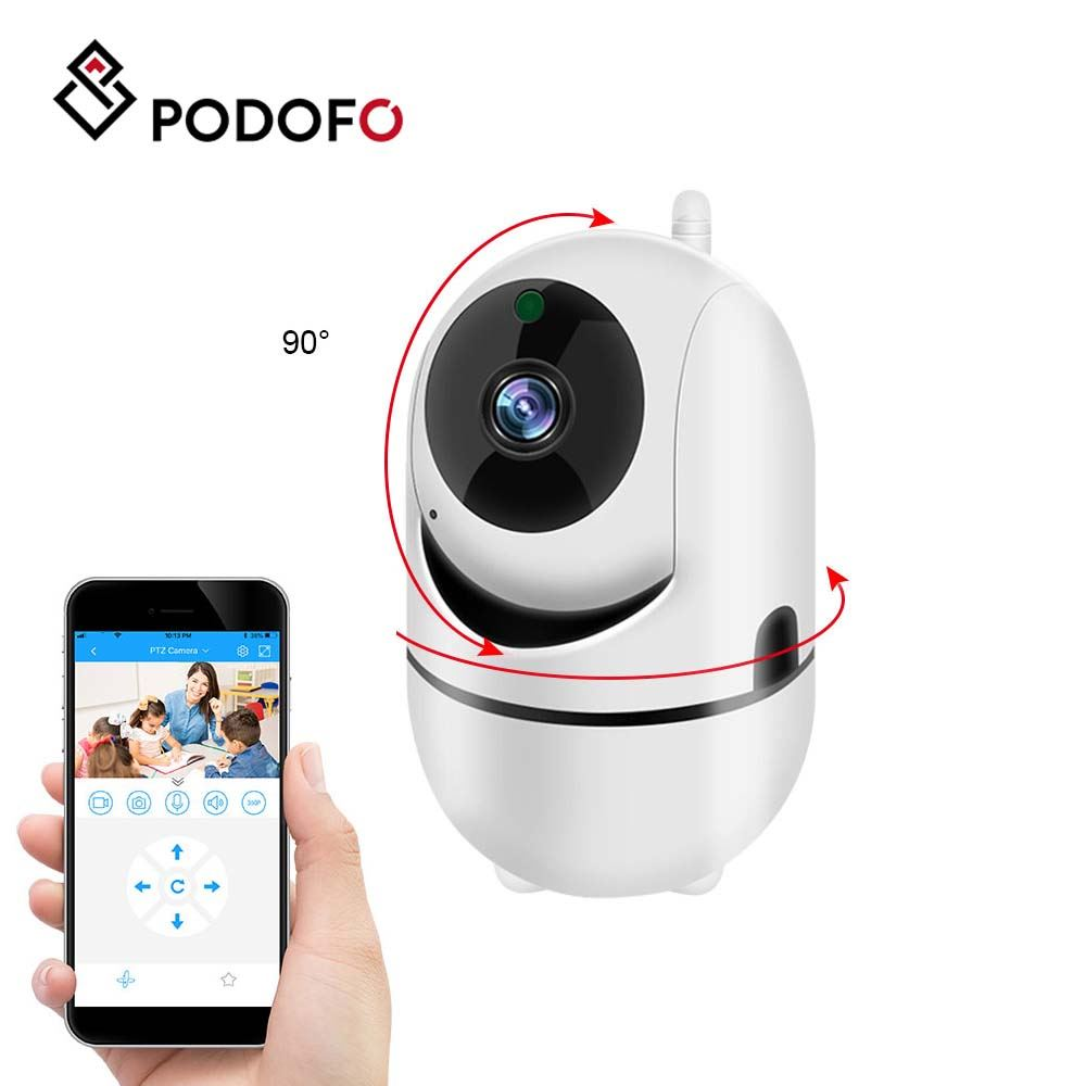 PODOFO Wireless Camera 360° HD 720P IP Home Security WIFI Cloud Camera With Audio Night Vision CCTV Camera For Mobile Phone