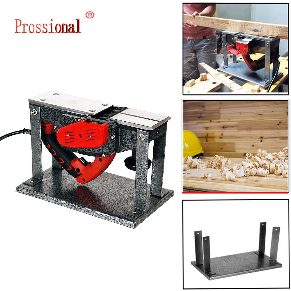 Portable Flip Support Flip Planer Household Electric Planers Guide Table For Woodworking Benches Tools