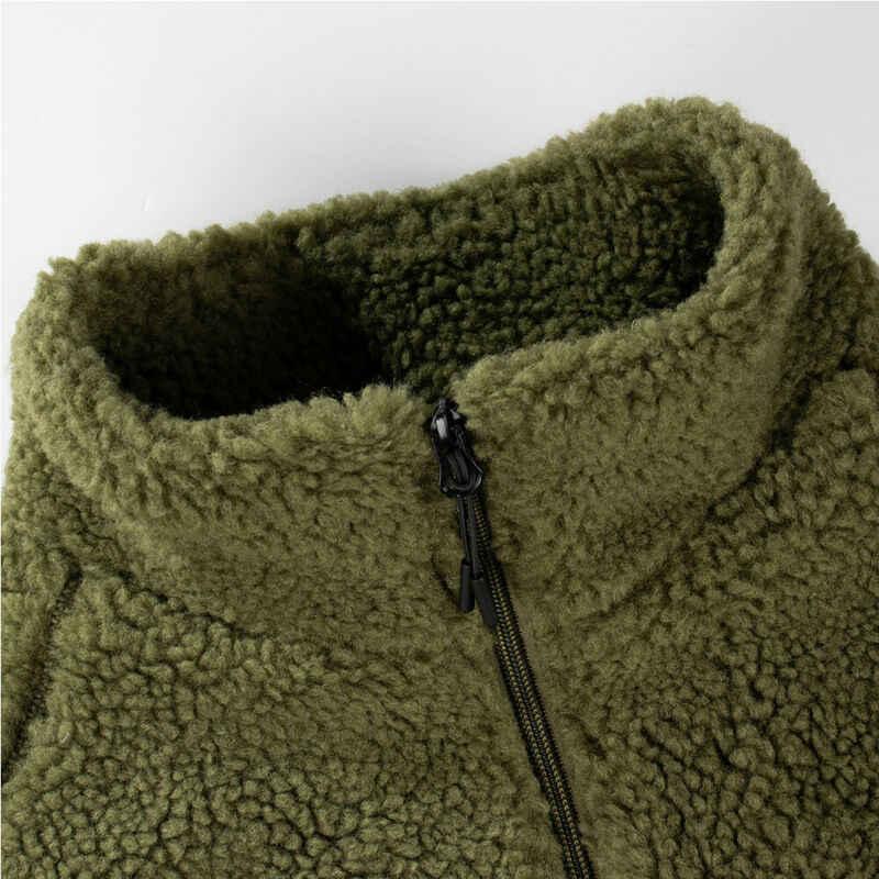 양모 지퍼 스웨터 가을 겨울 남성 단색 스웨터 코트 가짜 모피 울 스웨터 자켓 남성 지퍼 남성 보이 outear 후드