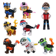 Paw Patrol Toys Set Dog Patrulla Canina Ryder Deformation Puppy Patrol Birthday New Year Gift for Children Kids