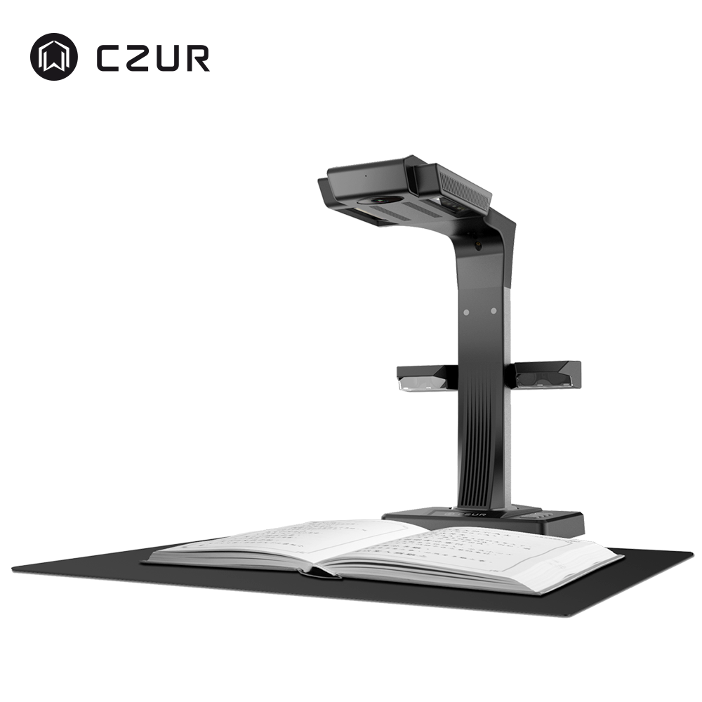 CZUR ET18 Pro Premium A3 A4 หนังสือเอกสารสแกนเนอร์ OCR WIFI สำหรับ Mac Windows แปลง PDF/ searchable PDF/Word/TIFF