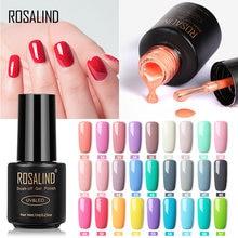 Rosalind 7Ml Nail Gel Polish Nagels Art Gel Nagellak Set Voor Manicure Soak Off White Semi Permanente Uv gel Hybrid Lak