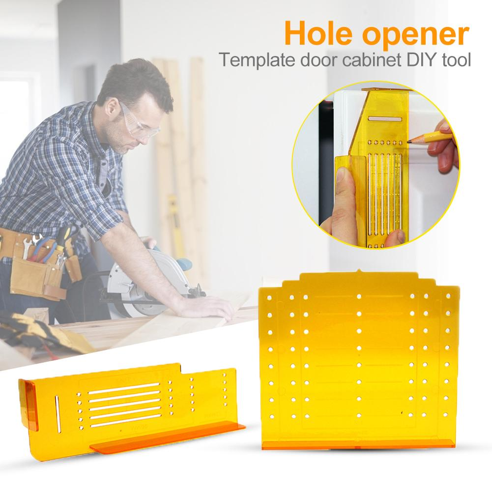 Woodworking Hole Opener Hinge Drill Clear Scale Steady And Beautiful Light Weight For Cabinet Window Door Guide Drill Holes