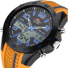 KAT-WACH men male Sports Electronic Waterproof Watch Multifunction LED Luminous Silicone Watch Stopwatch Timing Alarm Calendar watch timing machine multifunction timegrapher no 3000