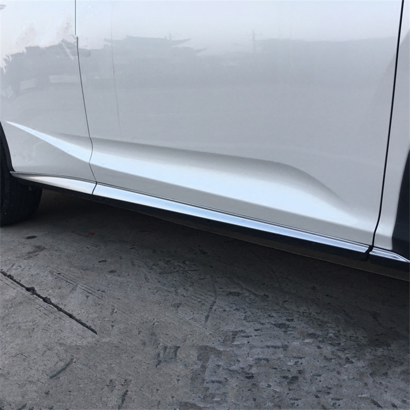 WELKINRY car auto cover For <font><b>Lexus</b></font> <font><b>RX</b></font> 2016 <font><b>2017</b></font> 2018 ABS chrome car body door side bar moulding trim image