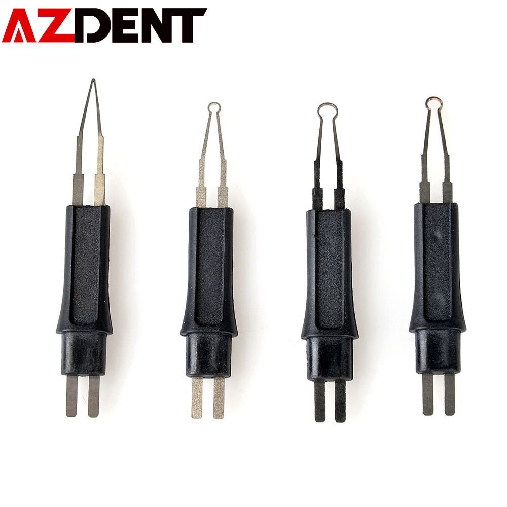 4 Pcs Azdent  Dental Gutta Cutter Accessories