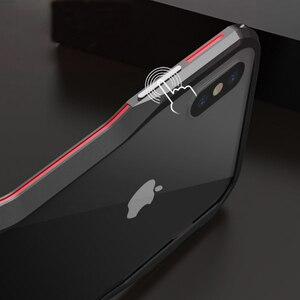 Image 5 - Metal tampon IPhone11 Pro Max 12Pro durumda alüminyum çerçeve koruyucu IPhone XS için Max 7 8 artı kapak tampon iphone XR ev