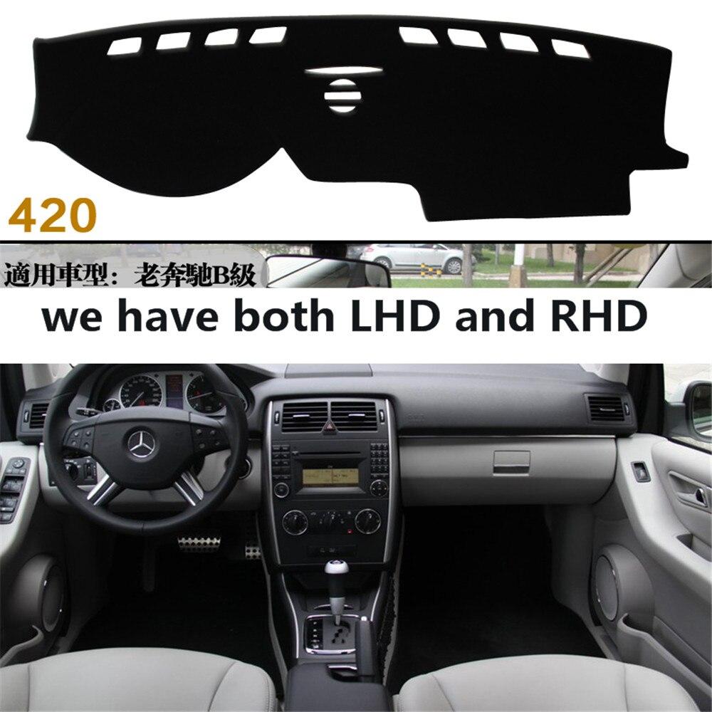 For Mercedes-Benz B-Class W245 B160 B180 B200 2006-2011 Dashmats Car-styling Accessories Dashboard Cover Pad Carpet Sunshade