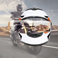 Clear Pinlock Anti-fog Patch moto sticker Motorcycle Full Face Helmet for K3 K4 AX8 LS2 HJC Marushin Helmets For motocross