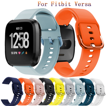 22mm Soft Silicone strap band for Fitbit Versa Watch Replacement Accessories Bracelet Wristband for Fitbit Versa Watchband bands high quality soft silicone secure adjustable band for fitbit alta hr band wristband strap bracelet watch replacement accessories