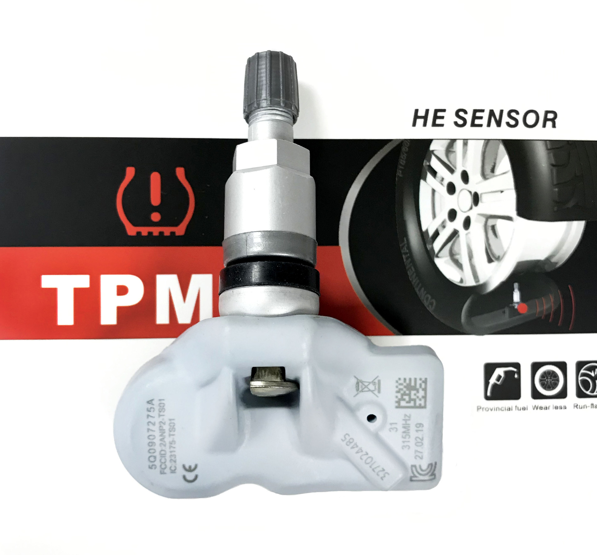 5Q0907275A Tire Pressure Sensor Monitoring System TPMS 315MHz For Audi RS3 SQ7 Porsche Boxster Cayenne Manca Panamera|Tire Pressure Monitor Systems| |  - title=