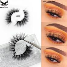 AMAOLASH Eyelashes 3D Mink Lashes Cross Thick High Volume Handmade False Eyelash Extension Natural J022