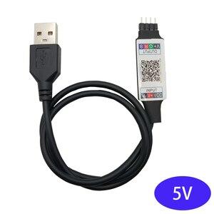 5V USB LED RGB Controller Blue