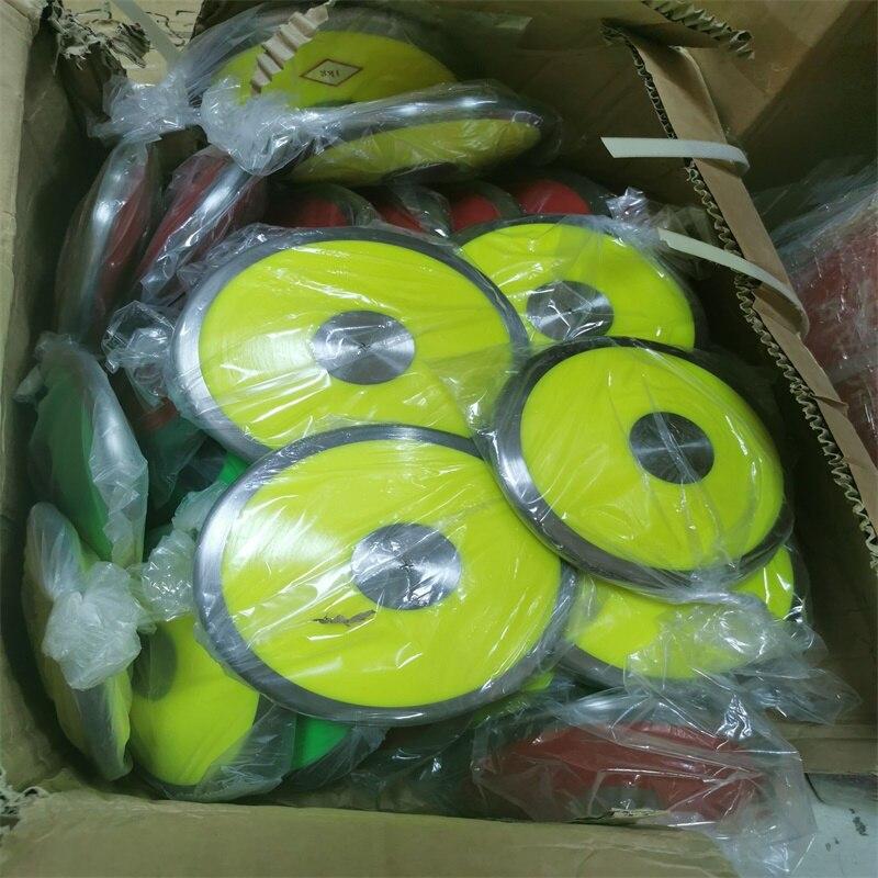 Wholesale 1kg/pcs Nylon Discus Athletics Training Wood Discus Throw