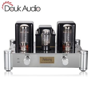 Douk audio Hi-end EL34 Vacuum Tube Amplifier HiFi 2.0 Channel Single-ended Class A Stereo Power Amp 12W*2