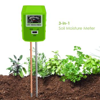 3 w 1 tester gleby PH gleby wilgotność miernik natężenia światła dla kryty użycie na zewnątrz nadaje się do użytku zarówno wewnątrz jak i narzędzia do pracy na zewnątrz tanie i dobre opinie ANENG MU1389826 ANALOG