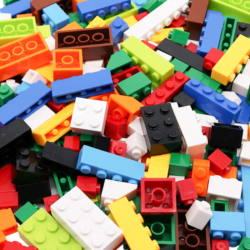 250-1750PCS Classic Small Size Building Blocks Boy Girl Creative DIY Bricks Educational Construction Block Toy For Children Gift