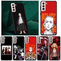 Custodia giapponese Zoro One Piece Anime per Samsung Galaxy S20 FE S10 Plus S20 Ultra 5G S8 S9 Plus S10e A51 A71 Cover morbida nera