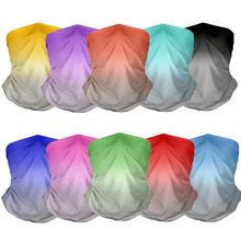 Лидер продаж градиентный цветной головной платок с 3d принтом