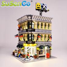 Susengo светодиодный светильник комплект для 10211 создатель