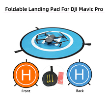 Parking Universal Landing Pads 55cm 75cm 110cm Drone Landing Pads for DJI Mavic Pro Mini 2 Air 2 Spark Phantom 3 4 FIMI X8 Drone mini n3 osd module for dji phantom can port osd replace dji iosd mini multicopter for dji phantom 2 2 naza v2