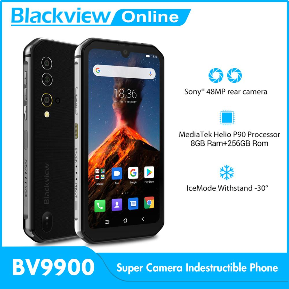 Blackview BV9900 Helio P90 Octa-Core 256GB 8GB CDMA/LTE/GSM/WCDMA Wireless Charging Fingerprint Recognition/face Recognition